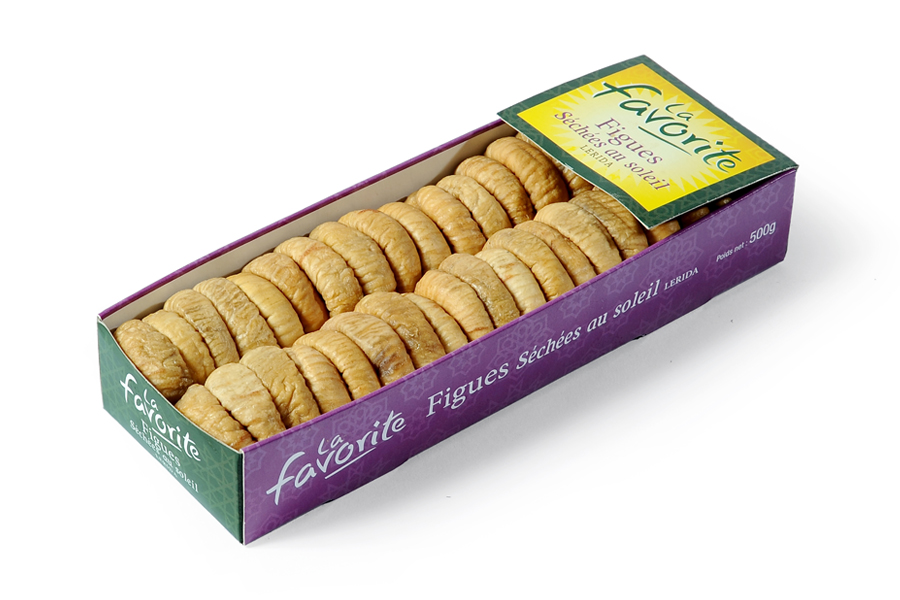 Figues sechees Lerida La Favorite 500g
