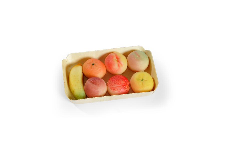 Fruits d'amande ravier de confiserie